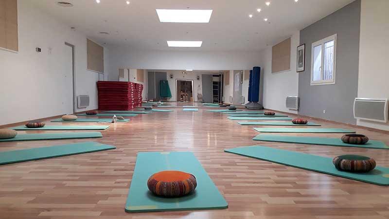 Salle municipale yoga Rouffiac Tolosan